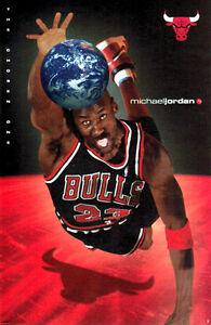 details zu vintage original michael jordan the chosen one 1998 chicago bulls poster