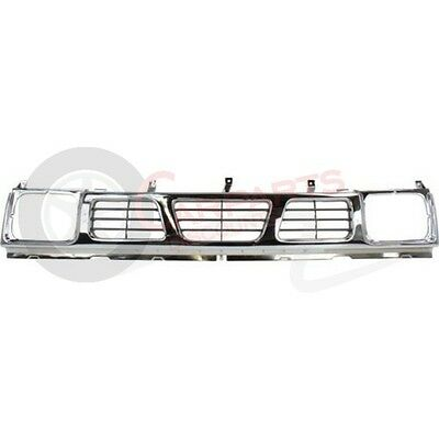 NI1200116 NEW 1993 1997 FRONT GRILLE FOR NISSAN PICKUP D21