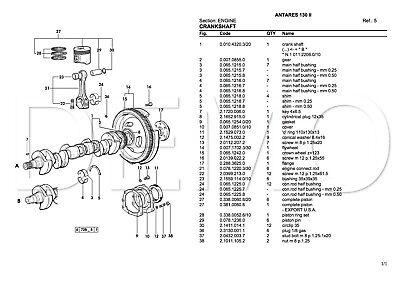 Same Laser Series Parts Catalogue, Original Manual, Parts