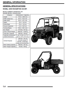 BEST DIGITAL Polaris Ranger 500 OEM Service Repair Manual