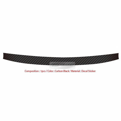 Carbon Rear Bumper Protector Decal Sticker Cover for
