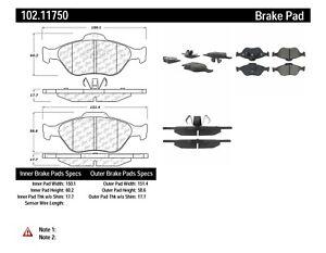 C-TEK Metallic Brake Pads-Preferred fits 2004-2009 Ford