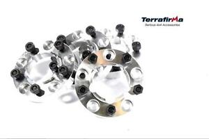 LAND ROVER NEW 30MM WHEEL SPACERS & NUTS TF301 FOR 90 110