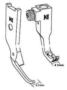 Pfaff Extra Narrow Zipper Feet Right Side For 145 , 545