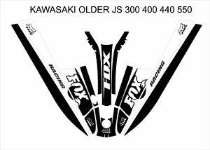 kawasaki 550 440 400 js sx jet ski wrap graphics pwc stand