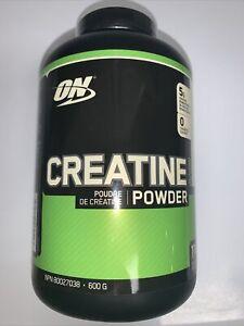 Optimum Nutrition. Micronized Creatine Powder.1.32 lb 600g 114 SRV Best By 10/20 | eBay