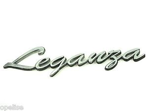 Genuine New DAEWOO LEGANZA BADGE Emblem Logo 1997-2004 CDX