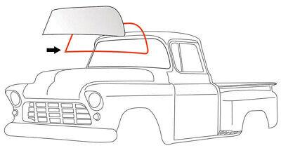 55-59 Chevy/GMC Truck Windshield Gasket Weatherstrip Seal