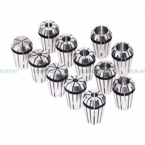 13pcs ER20 Spring Collet Set For CNC Milling Lathe Tool