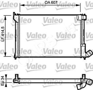VALEO Engine Cooling Radiator Fits CITROEN Xantia