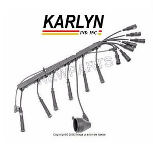 For BMW E28 E30 E34 525i 325iX 325i Spark Plug Wire Set