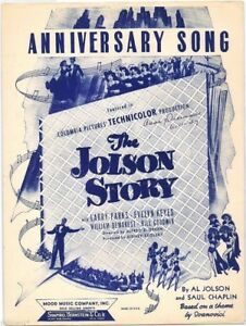 anniversary song the jolson