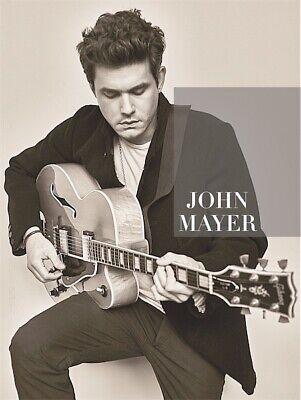 john mayer album print tour poster guitar photo record music cd vinyl blues rock ebay
