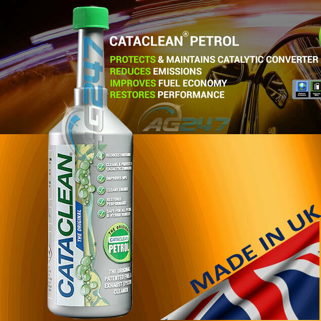 cataclean cat001 500ml engine and catalytic converter cleaning treatment