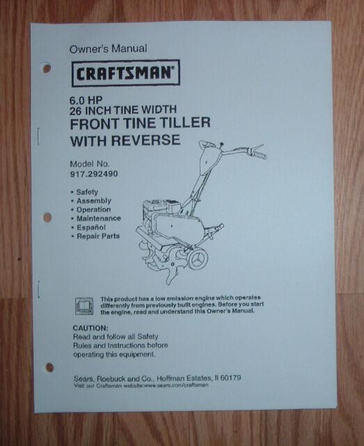 Craftsman Repair Manuals Online