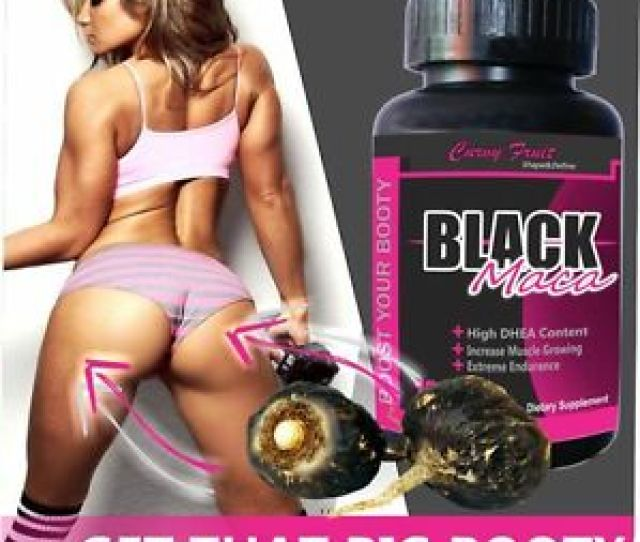 Image Is Loading Black Maca Root Tablets For Big Booty By