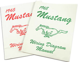 Mustang Electrical Wiring Diagram Manual 1970 70 Coupe