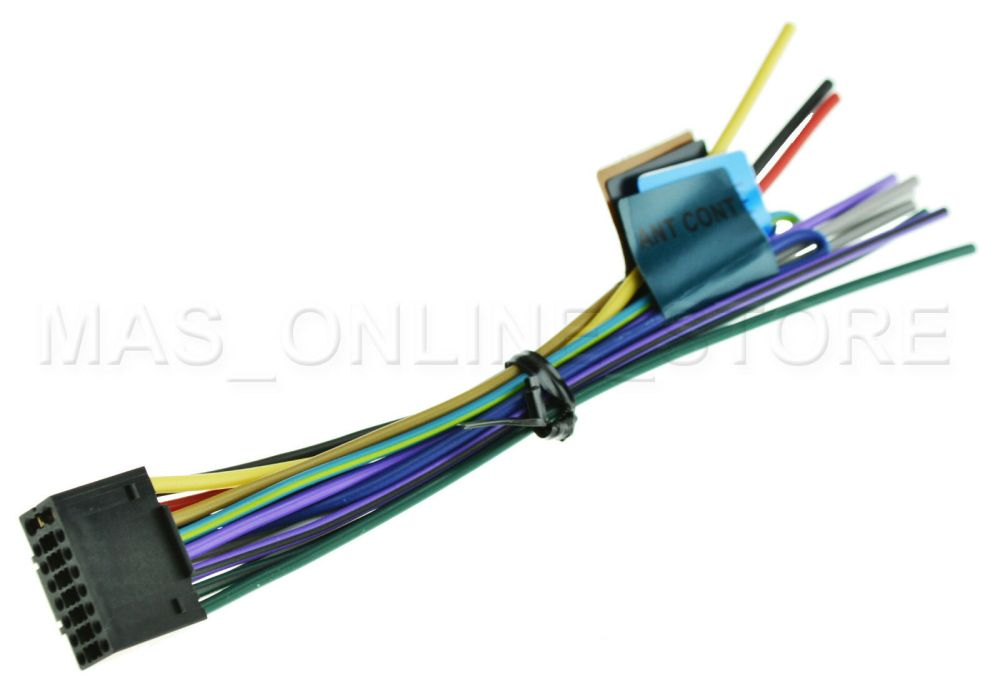 medium resolution of kenwood kmr 350u kmr350u oem genuine wire harness for sale online ebay kenwood kmr d358 wiring harness