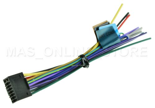small resolution of kenwood kmr 350u kmr350u oem genuine wire harness for sale online ebay kenwood kmr d358 wiring harness