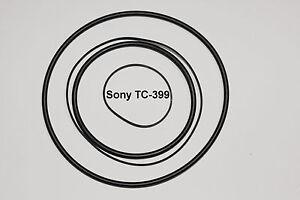 CORREAS SET SONY TC399 MAGNETOFONO EXTRA FUERTE NEUVAS DE