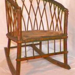 Metal Rocking Chair Runners Milo Baughman Chairs Antique Wicker Rocker Childs Wood Seat To Image Is Loading