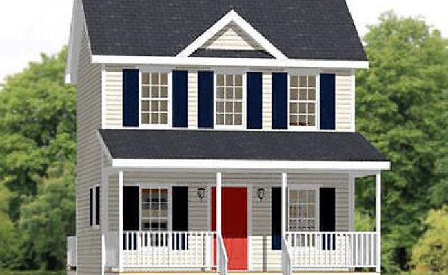 20x16 Tiny House 584 Sq Ft Pdf Floor Plan Model