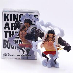 Mono De una pieza * D * Luffy Gear 4 Kong pistola Figura De Acción Colección De Pvc Juguete en Caja