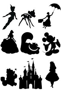 details about disney silhouette
