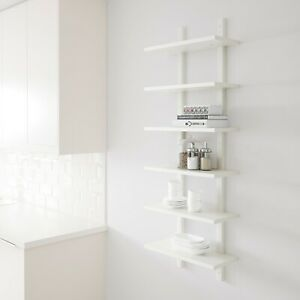 Molly edmonds mention the possibility of a saturday afternoon trip to ikea,. Scaffale Bianco Ikea Mod Varde 140x50 Cm Ebay