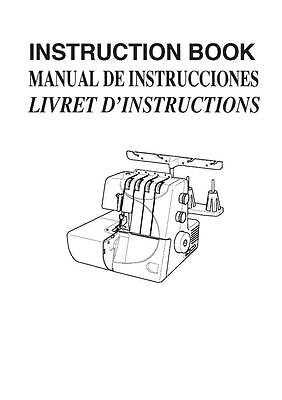 Necchi S34 Sewing Machine Manual Instructions User Guide