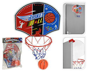 Childrens Mini Basketball Hoop and Ball Indoors or Outdoors Door ...