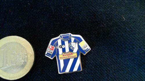 vfl bochum trikot pin 2009 2010 home netto badge sammeln seltenes pins anstecknadeln