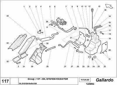 Lamborghini Gallardo Parts Catalog EPC Electronic Parts