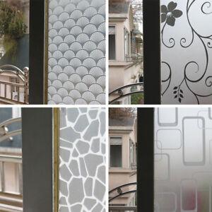 details sur pvc autocollants sticker mat anti vue verre fenetre vitre salle bains 200cm 60cm