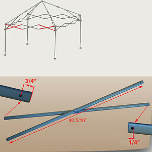 truss style diagram simple home network coleman new 10 x shelter canopy gazebo side bar image is loading 039