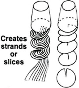 discount price online 12-PACK Saladacco Spiral Slicer