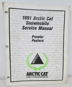 1991 Arctic Cat Prowler Pantera Snowmobile Service Manual