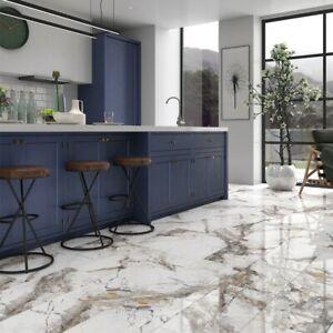 details about fantasia invisible marble gloss porcelain tile 600 x 1200mm pallet deal job lot
