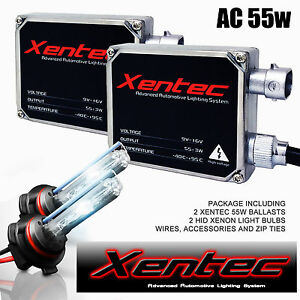 xentec hid wiring diagram 9007 boat anatomy hummer h1 h2 h3 car light xenon 55w 2 bulb ballast kit image is loading