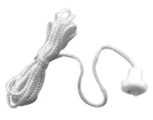 2x Clipsal PULL CORDS 1.8m 15A 250V For Standard Ceiling