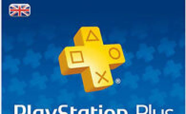 Playstation Plus Uk 365 Days 12 Month Membership Card 1