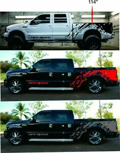 Nissan Frontier Graphics : nissan, frontier, graphics, Decal, Graphic, Stripe, Colors, Black
