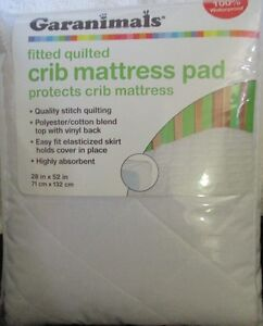 Image Is Loading Garanimals Crib Mattress Pad 28 034 X 52