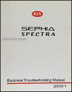 2000 kia sephia engine diagram hyperstar dual battery kit wiring for 2001 great installation of and spectra electrical troubleshooting manual rh ebay com