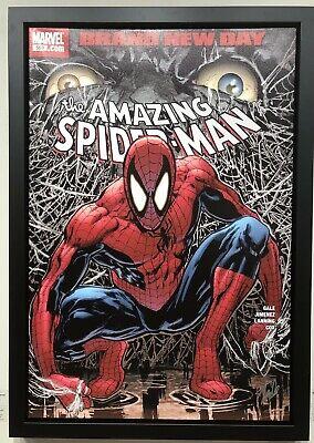 stan lee marvel spider man poster signed ebay