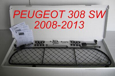 filet grille de separation coffre pour peugeot 308 sw pour chiens et bagage ebay