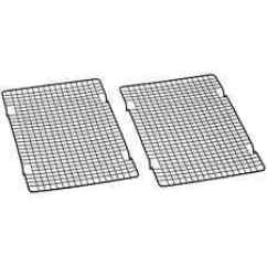 Speed Racks For Kitchen Wooden Set Toddlers Restaurant Baking Bakery Cooling Sheet Pan Rack Cart 2 Tier Nonstick Wire Grate Of