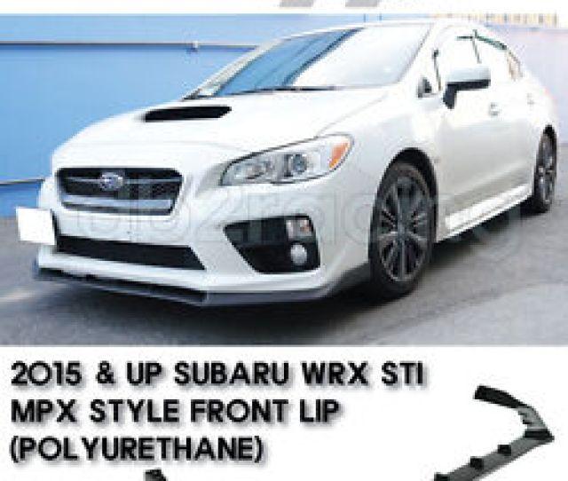 Image Is Loading Mpx Style Subaru Wrx Sti Jdm Front Lip