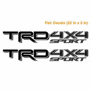 Toyota TRD 4X4 sport 2016 2017 Tacoma Tundra Truck Pair