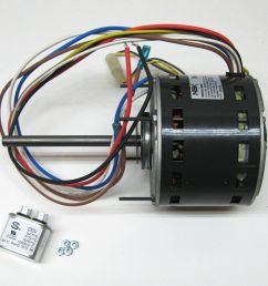 furnace air handler blower motor 1 3 hp 1075 rpm 230 volt 3 speed rh ebay mars 10589 wiring diagram  [ 1600 x 1293 Pixel ]